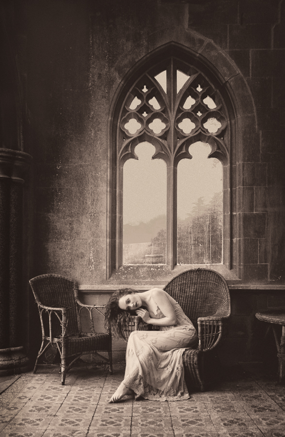 Gothic Lady by Tim Pile, England