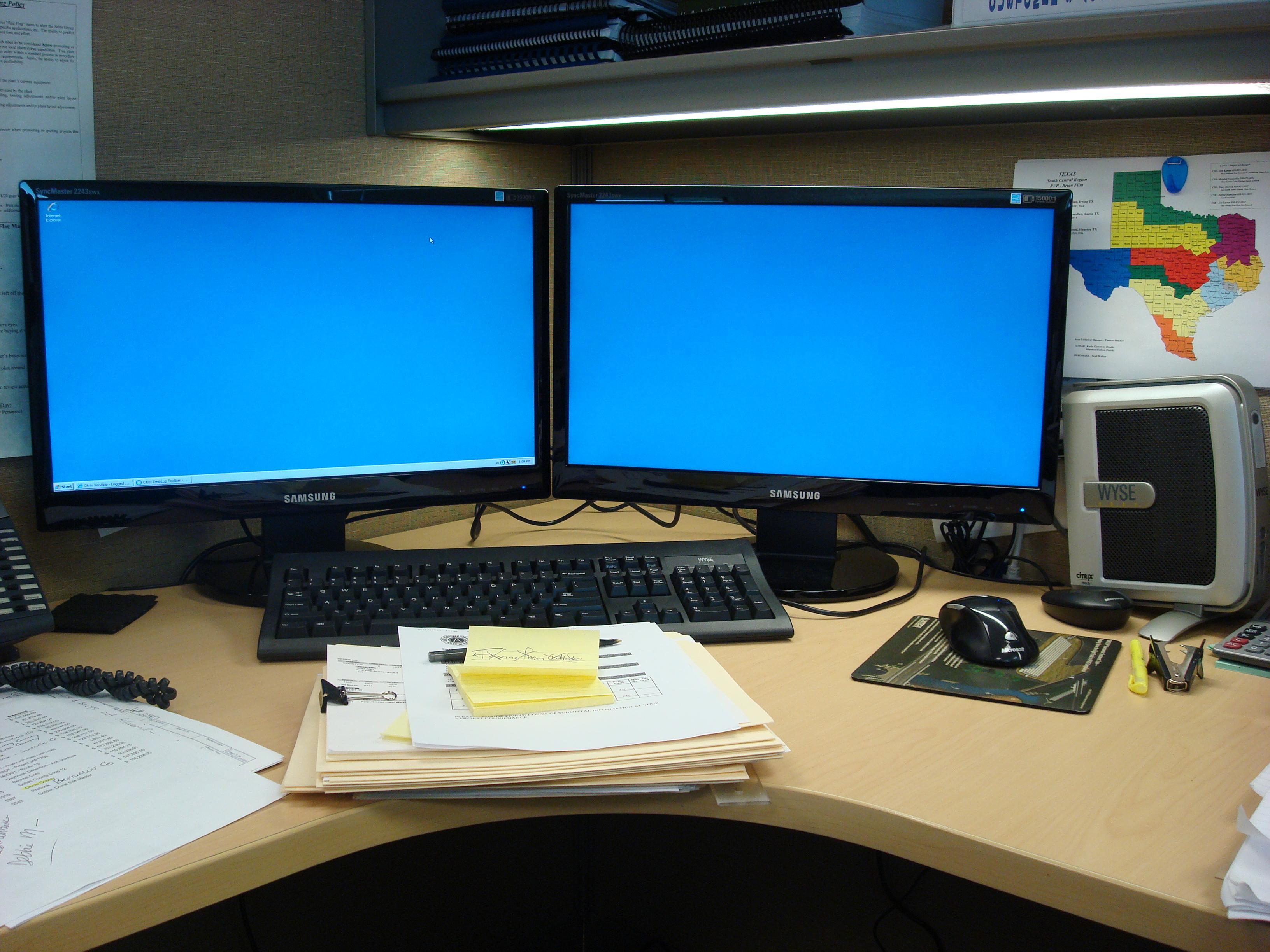 Dual monitors on a Wyse V90L