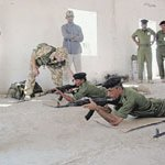Training Iraqi police