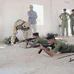 Training Iraqi police