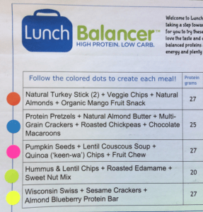 Lunch balancer 1