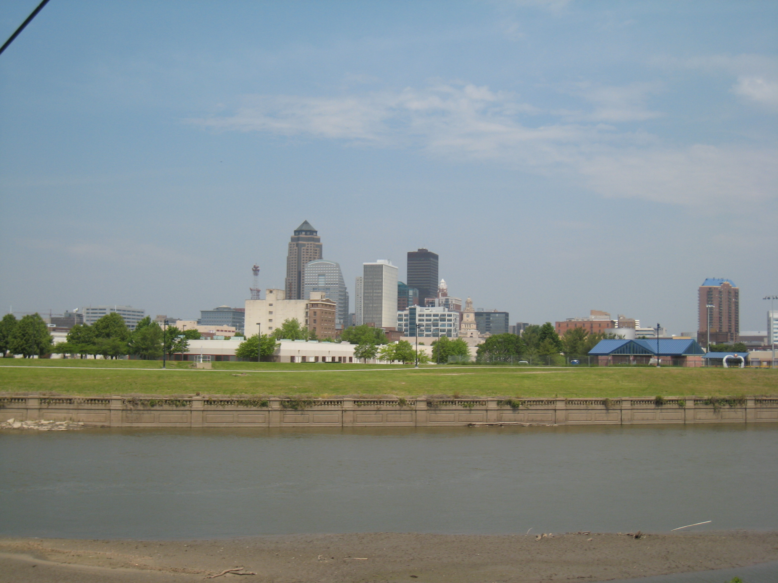 View of Downtown Des Moines