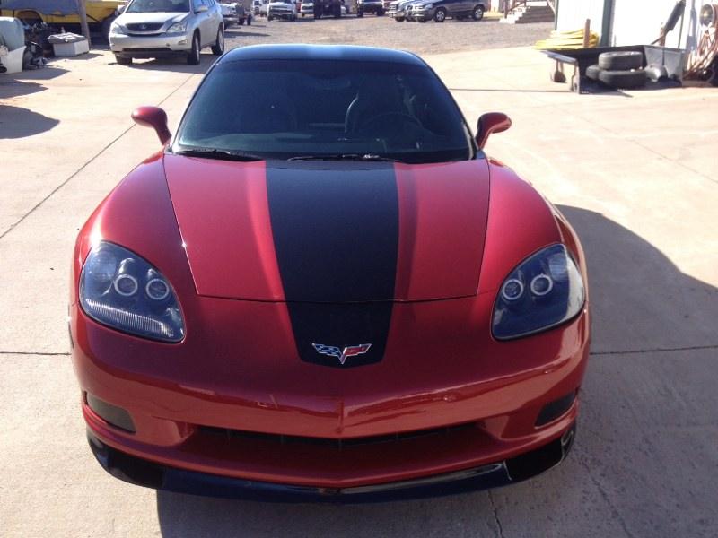 Custom two-tone Corvette by Body Worx of Guthrie
