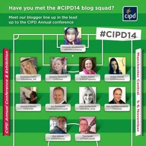 Blog squad - #CIPD14