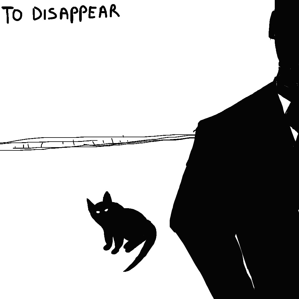 If you want to disappear, you can do it most anywhere