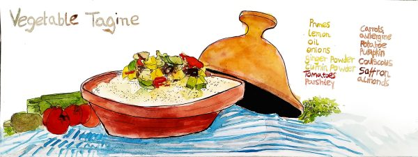 vegetable-tagine