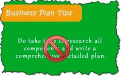 business plan tip, business plan, agile and flexible