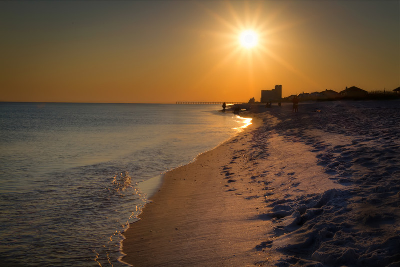 Going to the beach in the fall season is great. Most days are warm enough to enjoy, but there is still a crisp in the air in morning and evening. But the best thing is most everyone is back at the office. The crowds from summer are gone and the beach is yours. Photo by Tim Stanley Photography.