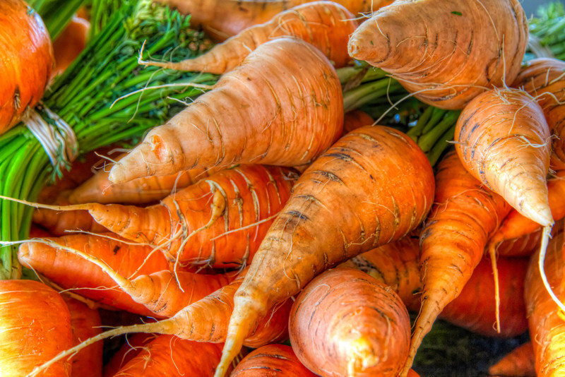 These carrots are from a new farmers market in downtown Sugar Land, TX. (There's a joke in there somewhere too). Photo by Tim Stanley Photography.