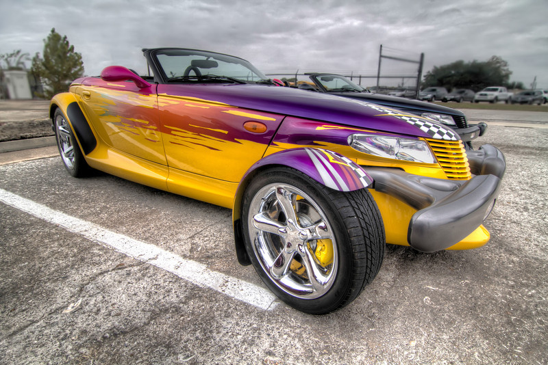 From 1997 to 2002, Chrysler Plymouth made 11,702 Prowlers and today it is still sought after for it's unique design and performance. Photo by Tim Stanley Photography.