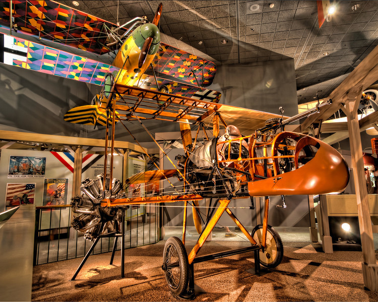 I think this is a cut-away on how planes are built. The color and structure of the wood attracted me to take the HDR photo, but didn't notice any reference sign. Photo by Tim Stanley Photography.