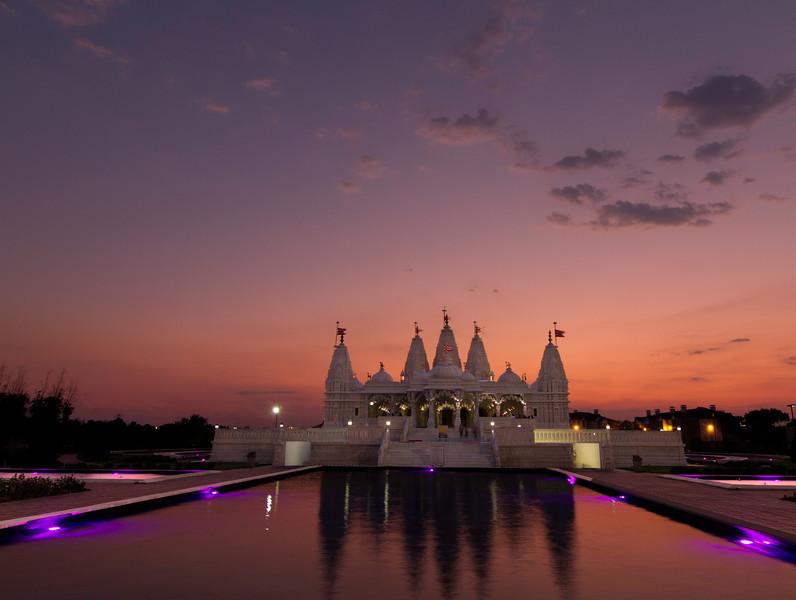 This is another view of the Shri Swaminarayan Mandir. Photo Tim Stanley Photography.