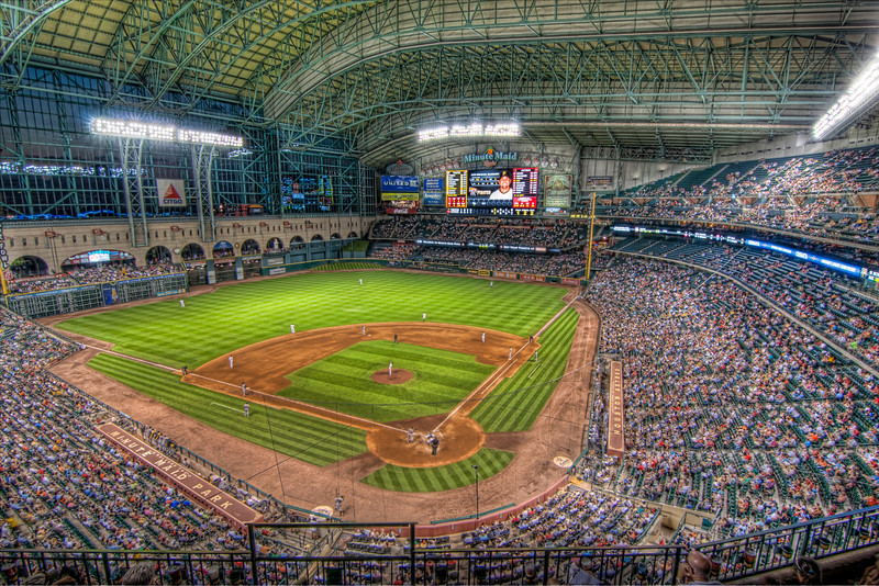 Having grown up in Houston, I'm an Astros fan, for better or for worse. Since it's usually for the worse, I don't follow the team too closely, but I do enjoy going to the ball park when the opportunity arises. I started attending games in the Astrodome and felt like I was cheating on an old friend the first time I attended a game at Minute Maid Park. The guilty feeling didn't last long, as it's a great baseball park, win or lose. Photo by Tim Stanley Photography.