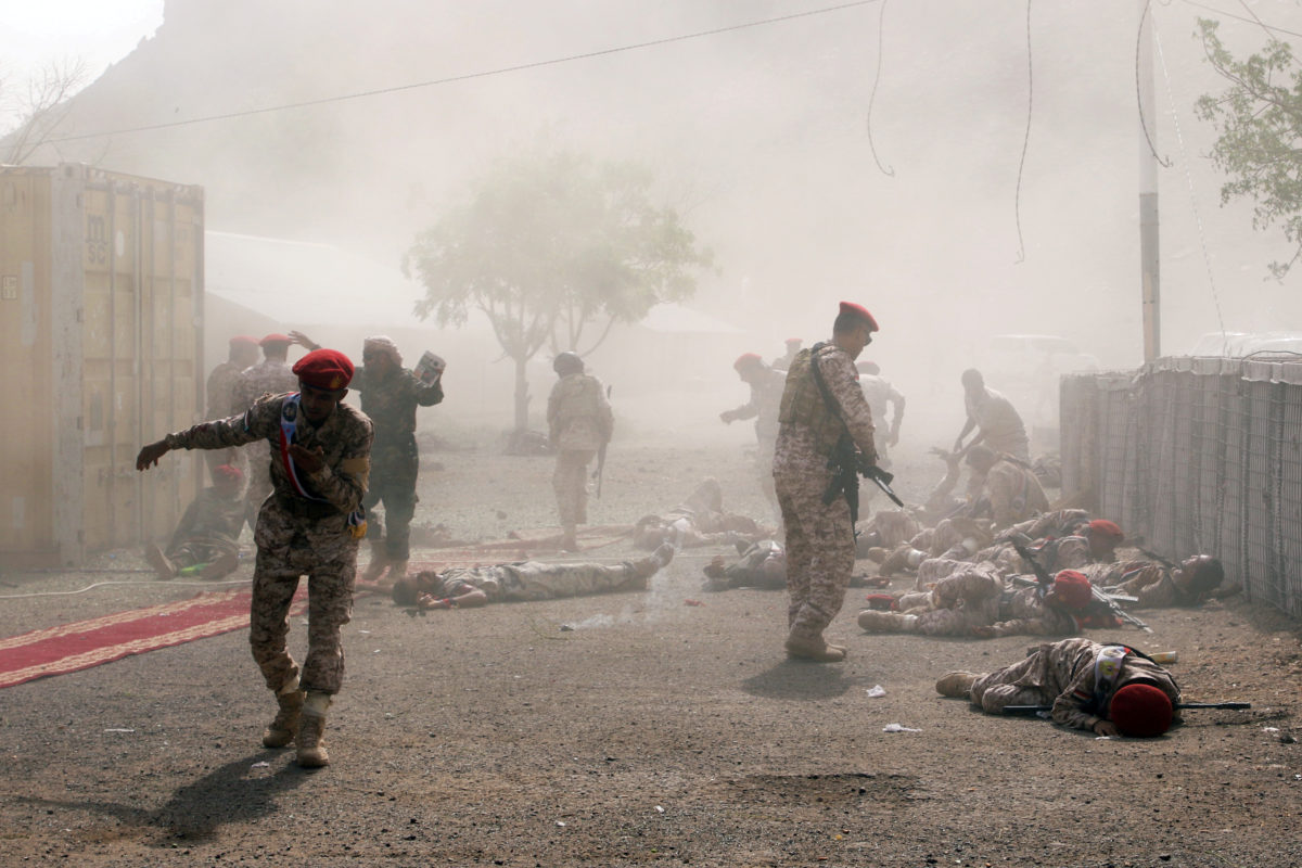 Saudi Arabia And Sunni Allies Started An Air Campaign In Yemen Against The Shiite Group. The Conflict Is Seen As A Proxy War Between Saudi Arabia And Its Regional Rival, Iran. The Conflict Has Pushed Yemen To The Verge Of Famine And Devastated The Impoverished Country's Health Facilities