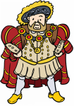 Henry 8th Clipart