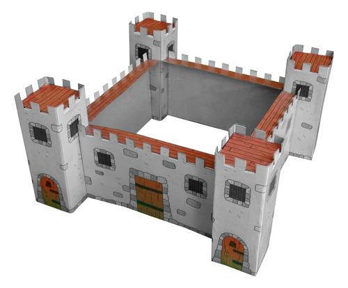 cardboard castle for kids
