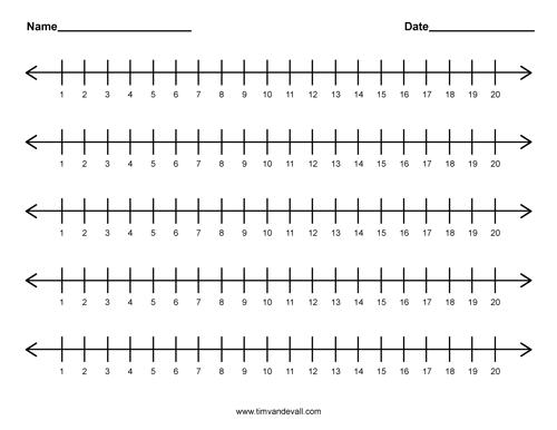 printable math template