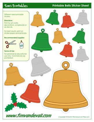 Christmas Bell Shape