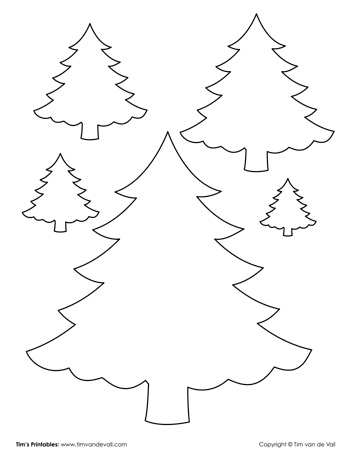 christmas-tree-outlines