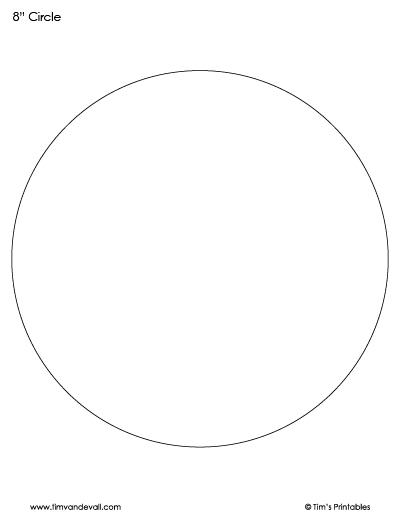 printable circle template
