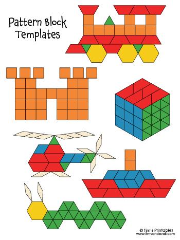 Pattern Block Templates 2020
