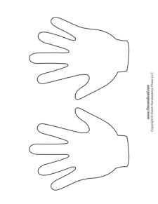 Handprint Templates