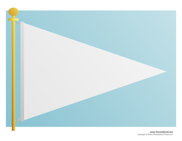 pennant template