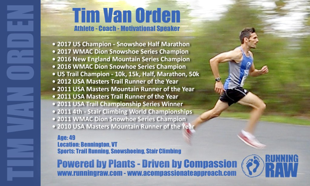 Tim Van Orden - Awards and Accomplishments