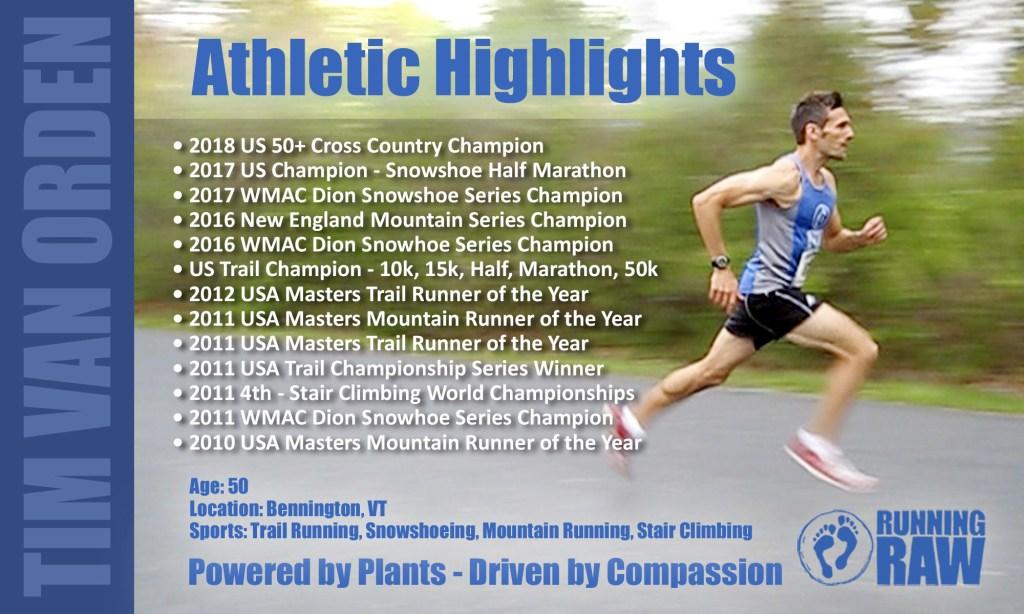 Tim Van Orden Athletic Highlights