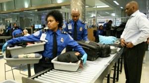 TSA traditional bag screening procedures