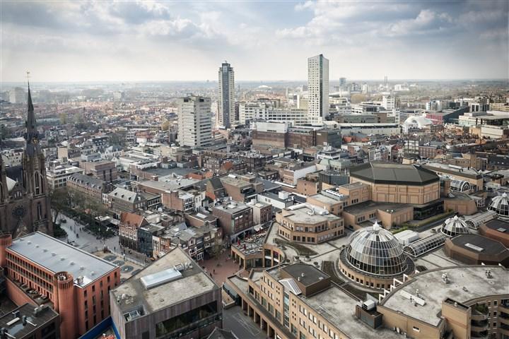 Eindhoven bovenaf winkels en shoppen