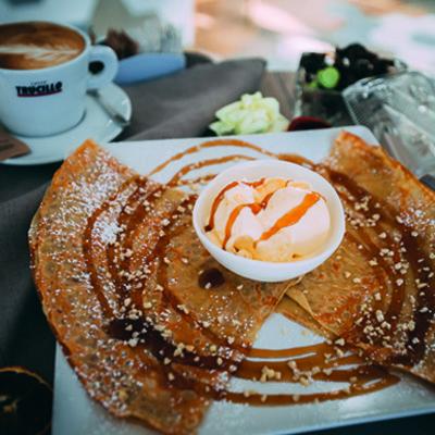 Eddy´s Café and Food kapana ontbijt lunch plovdiv