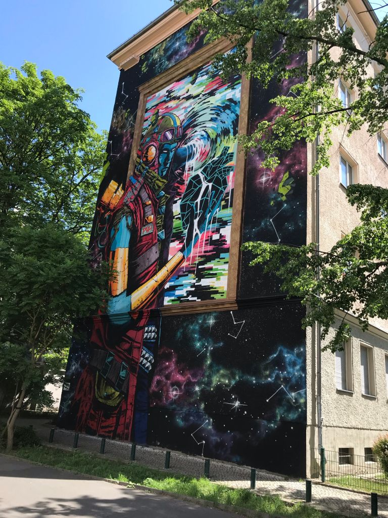 Prenzlauer Berg doen Oost-Berlijn kleurrijke wijk