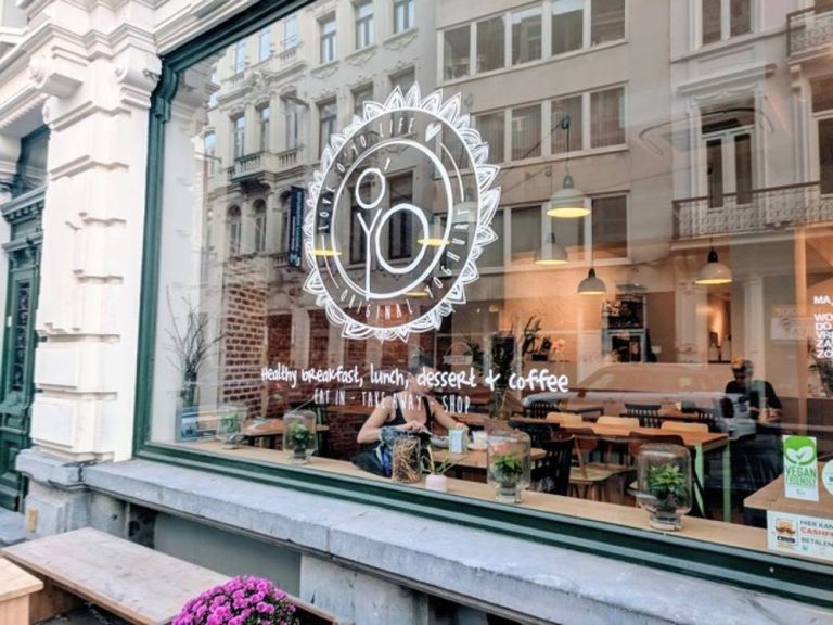 O'yo bar; Healthy Food restaurant in Gent