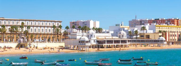 Kleine strand La Caleta