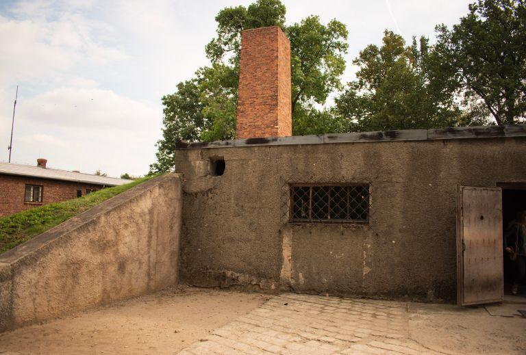 mijn bezoek aan auschwitz gaskamer