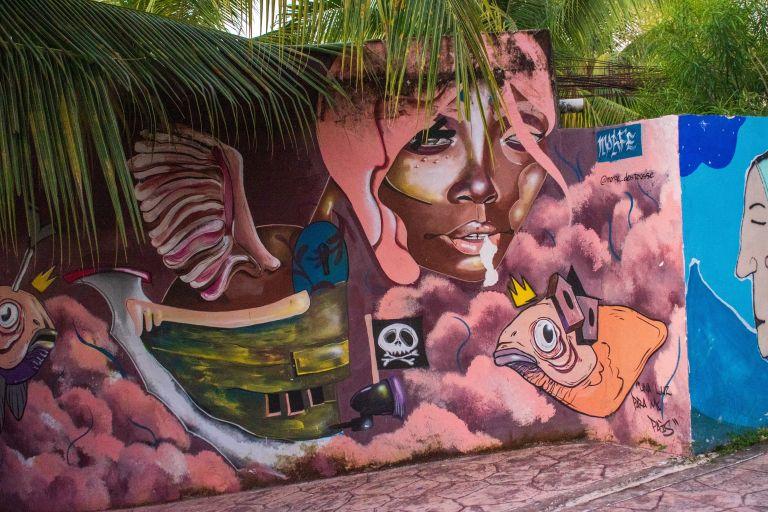 Laguna Bacalar kunst en chillen Mexico