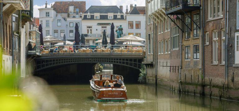 Dordrecht vanaf het water beleven