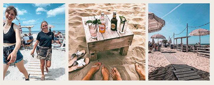 Zandvoort aan zee Hippie Fish Haarlem