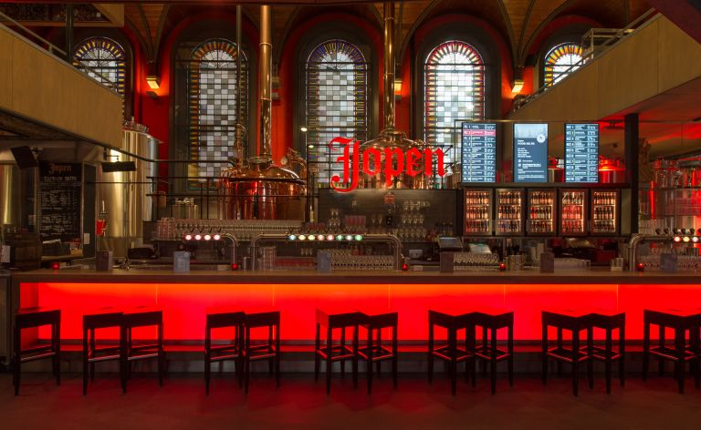 jopenkerk Haarlem borrelen charmant