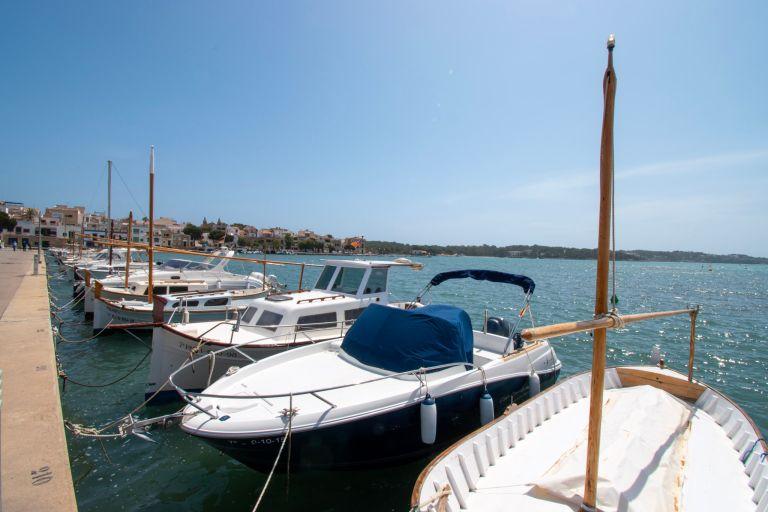 Uitwaaien in visserplaats Portocolom