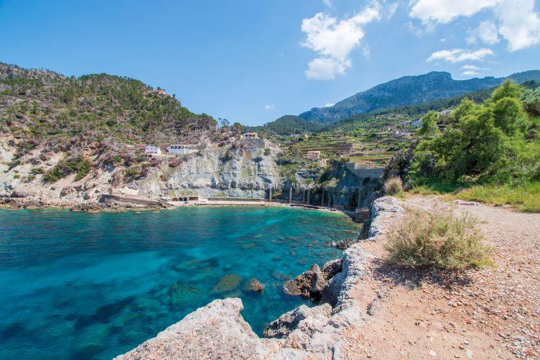 Cala Banyalbufar , 8x doen op mallorca, baaien