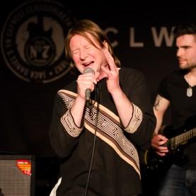 Junior Rock Music Academy. Tutors perform When A Blind Man Cries. Clwb Ifor Bach 2014
