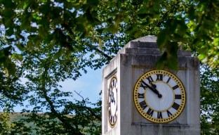 Blaenavon War Memorial Clock Tower.