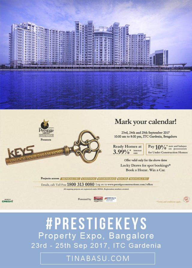 prestige keys property expo in bangalore