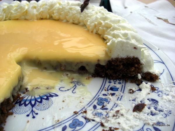 Anschnitt der Torte