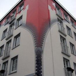 St. Georg Gebäudemalerei