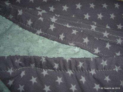 Hosenbund und Hosenbeinabschluß