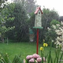 Regen, Hagel, Sturm