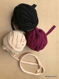 Textilgarn aufgewickelt